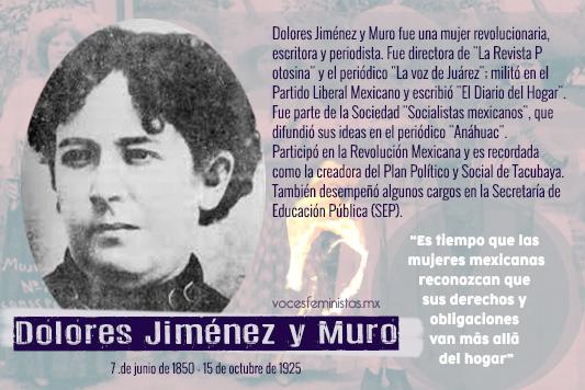 La vida revolucionaria de Dolores Jiménez y Muro